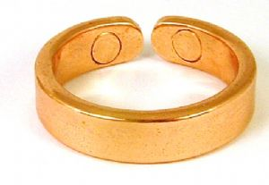 Z8: Plain Magnetic Copper Ring
